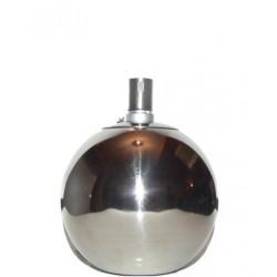 Nerezová petrolejová lampa (15 cm)