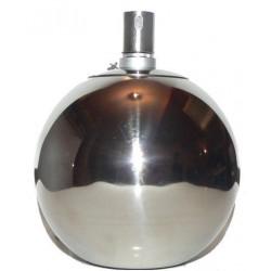 Nerezová petrolejová lampa (20 cm)