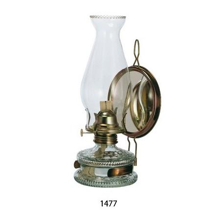 Petrolejová lampa EAGLE se zrcadlovým reflektorem