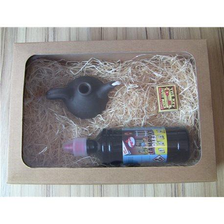 Dárkové balení lampy konvička s čirým lampovým olejem
