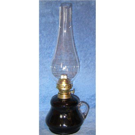 Petrolejová lampa 8''' (tmavě šedá bazenka)