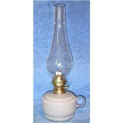 Petrolejová lampa 8''' (šedá bazenka)