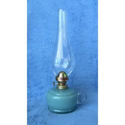 Petrolejová lampa 8''' (zelenomodrá bazenka)