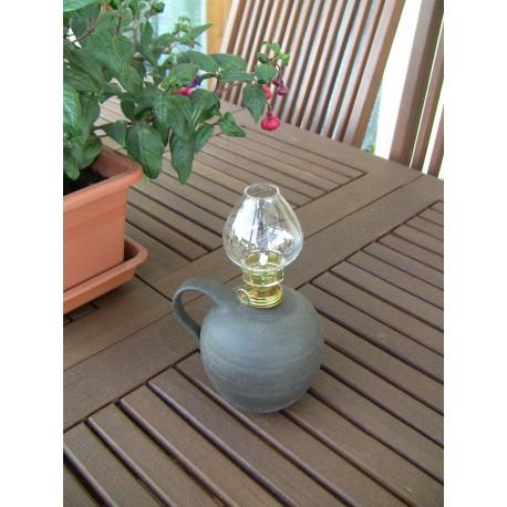 Petrolejová lampa LUNA (keramická bazenka)