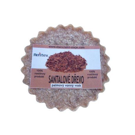 Vonný vosk Santalové dřevo