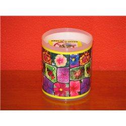 Svíčka repelentní Citronela (mozaika 008)