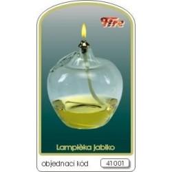 Dekorativní petrolejová lampa (jablko s lístkem)